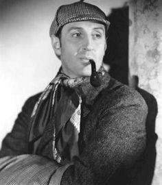 Basil Rathbone A great Sherlock Holmes.