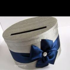 Grey round money box google images