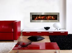 #Dimplex #Opti-V #wallmount #ElectricFireplace #HPBExpo electr fireplac, electric fireplaces, cozi fireplac