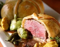 Classic Beef Wellington. http://allrecipes.tv/videos/beef-wellington-recipe.aspx beef wellington, top chef, classic beef, beefwellington, chef ramsey