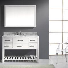 Caroline Avenue 48 In Vanity Cabinet Only In White