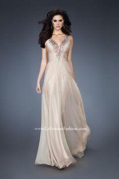 La Femme Dress 18604 at Peaches Boutique