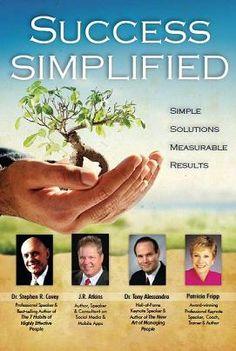 Success Simplified with J.R. Atkins Kindle Edition: http://www.amazon.com/dp/B007U8P3S4