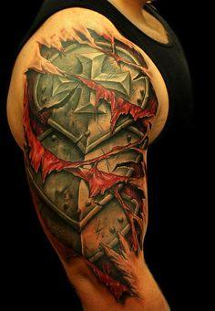 #armor #tattoos
