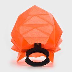Folds Collection - Lital Mendel : orange ring