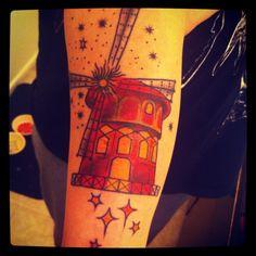 #newink #tattoo #awesome #windmill