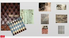 """The worn and """"well loved"""" look -- including the look of reclaimed wood -- is trending in #tile."""
