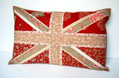 Lily's Quilts: Paper Pieced Union Jack Pillow