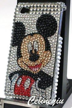 Mickey Mouse iPhone 4 case. I have this but not the phone any more.
