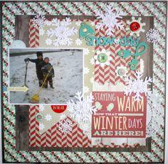 Snow Day ~My Creative Scrapbook DT~ - Scrapbook.com