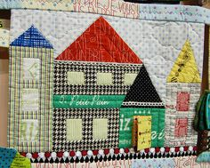 Tokyo Quilt Festival - house #quilt
