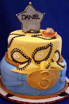 Cowboy Cake By messy_chef on CakeCentral.com