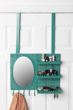 Over-the-Door Vanity Station