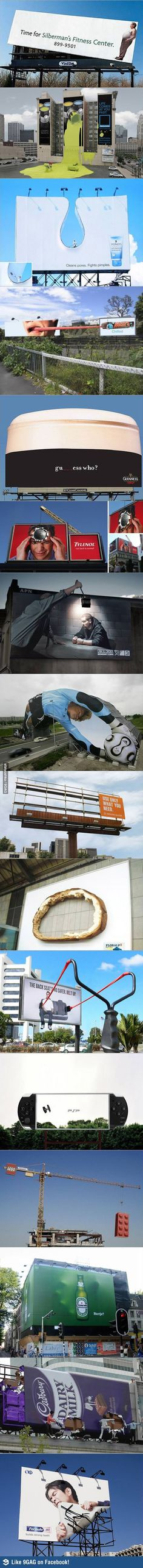 Awesome billboards are awesome