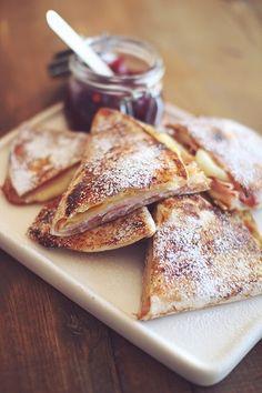 Monte Cristo Wrap Sandwich