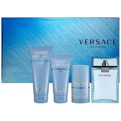 Father's Day Gift Ideas: Versace Eau Fraîche Gift Set: Gift & Value Sets #Sephora #FathersDay #FathersDayGifts #ForDad #cologne