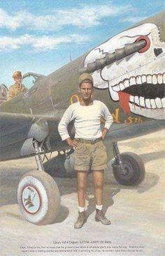 P-40 at BURMA