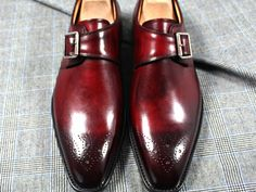 #Shoemakers: #custom hand-painted in #bordeaux patina