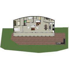 Earthship floor plan #2