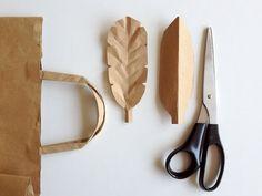 diy ideas, brown paper bags, fall crafts, diy bags, craft projects, craft ideas, autumn crafts, paper crafts, wooden spoons