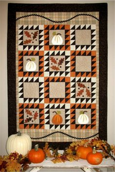 Fall gatherings quilt pattern by Joined at the Hip