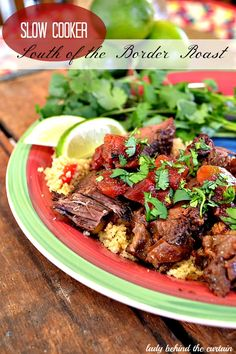 Slow Cooker South of the Border Roast