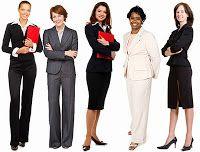 Business Professional attire for women