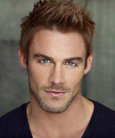 Copper hair, grey eyes...