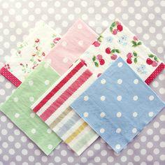 vintage style paper napkins