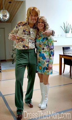 Mens 1970's Disco Party Outfits