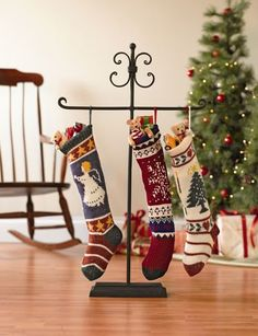 Stocking holders on pinterest 24 pins