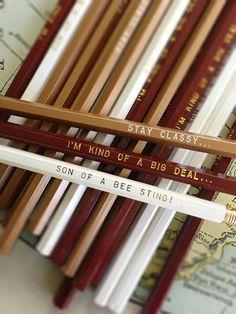 Anchorman Pencil 12 Pack | Earmark Social