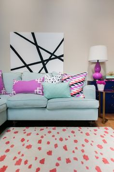 Caitlin Wilson's home featured on Style Me Pretty