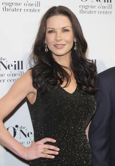 Catherine Zeta Jones Long Wavy Cut