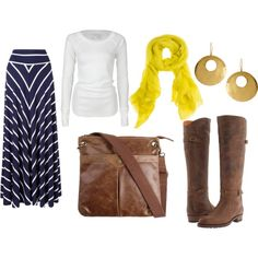 I have all these, just need a cute scarf!! Bring on Fall!!!