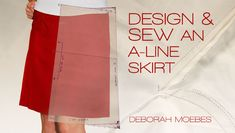 Join author Deborah Moebes in this sewing adventure as you design and sew an A-line skirt tailored to your shape and style. You'll gain an understanding of ease, dart design and pocket creation, while learning techniques to create skirt volume and support. Sign up for Design & Sew an A-Line Skirt today for 25% off. Click: http://www.craftsy.com/ext/20121111_ClassPin1