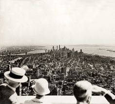 opening day of the empire state building 1931