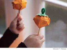 Mini pumpkin maracas nature crafts, thanksgiving crafts, pumpkin, thanksgiv craft, halloween crafts, fall craft, mini maraca, craft ideas, kid