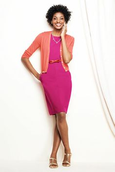 summer brights business casual - bold colorful professional style