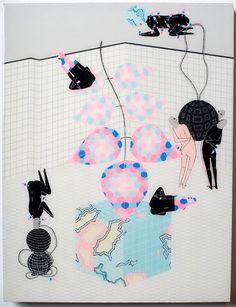 Kill Pixie Mark Whalen paintings