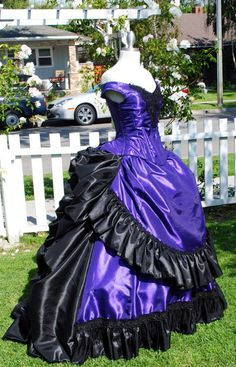 Claudia's Gothic Victorian Gown Custom Interview with the Vampire. $950.00, via Etsy.
