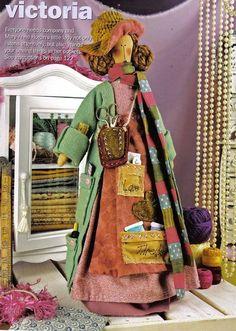 needlework keeper doll