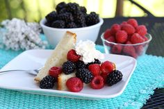Simple Berry Shortcake