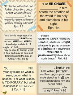 Printable #Bible Verse Cards to Personalize with the name of your sponsored child!