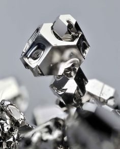 Microscopic Photos of the Periodic Table of Elements - Palladium