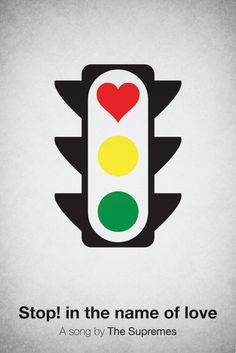 Pictogram music posters on the Behance Network