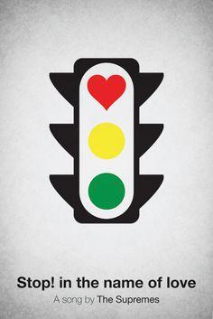 Pictogram music posters by Viktor Hertz, via Behance  Brilliant!