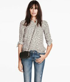 HM blouse $29.95
