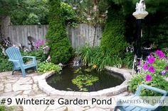14 Fall Tips For A Better Spring Garden - do these now and thank yourself in spring! #gardenideas #spon