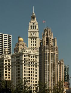 the architecture in chicago is gorgeous...